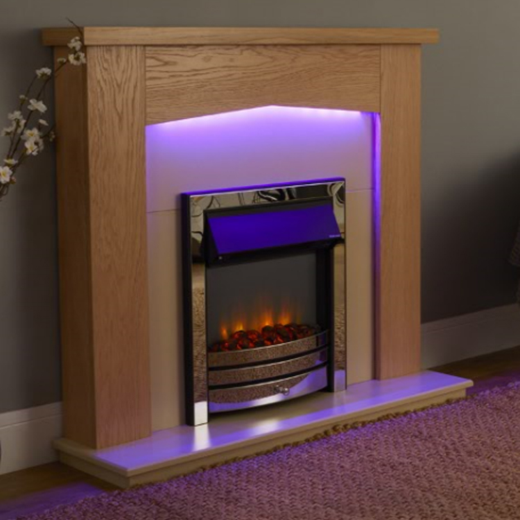 Linton Electric Fire Suite - Endeavour Fires and Fireplaces