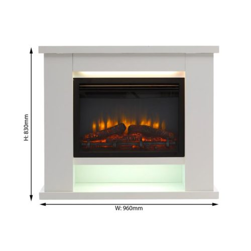 Ebberston Electric Fireplace Suite