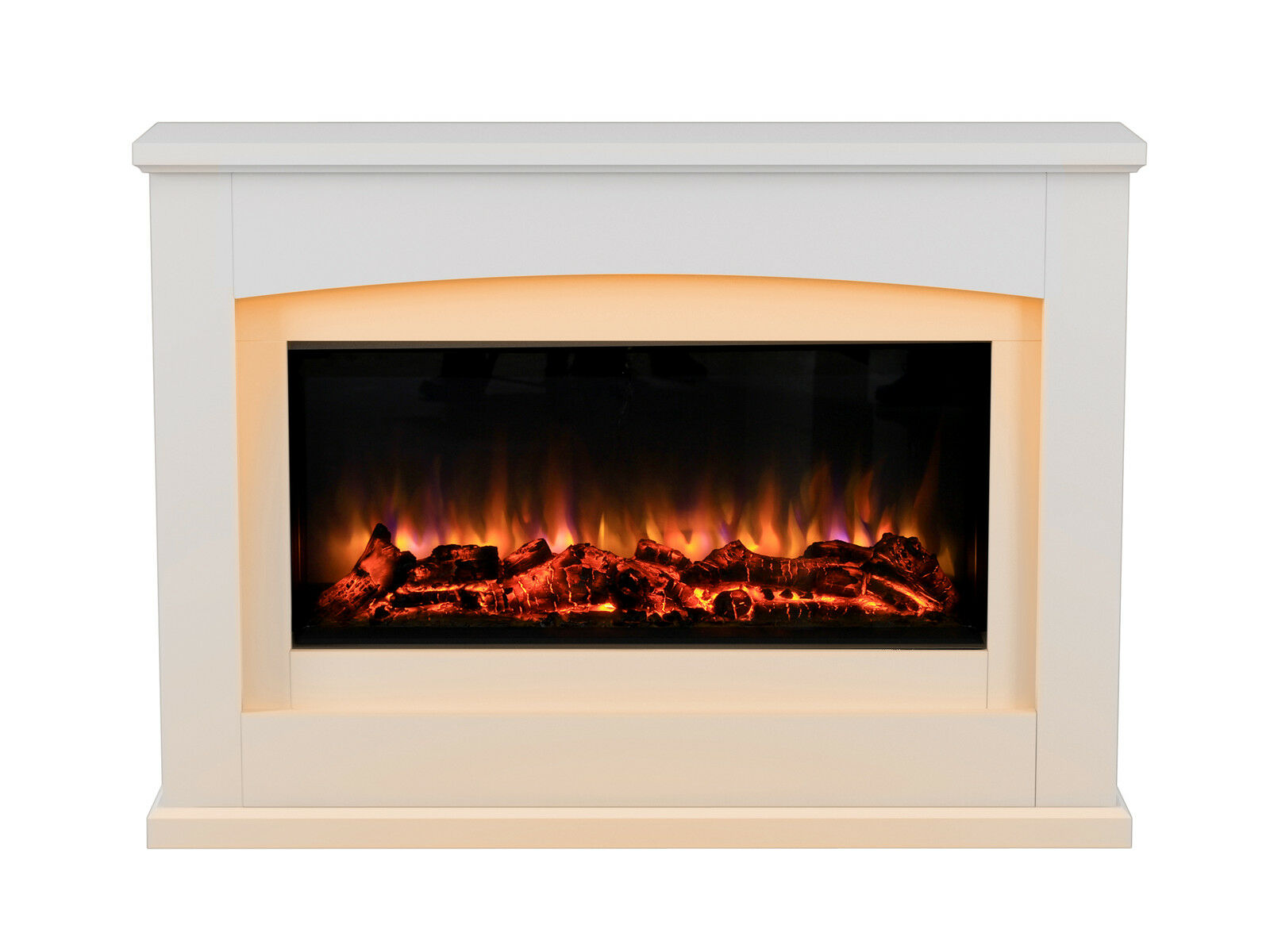 Danby Glass Fronted Electric Fire Suite Endeavour Fires And Fireplaces